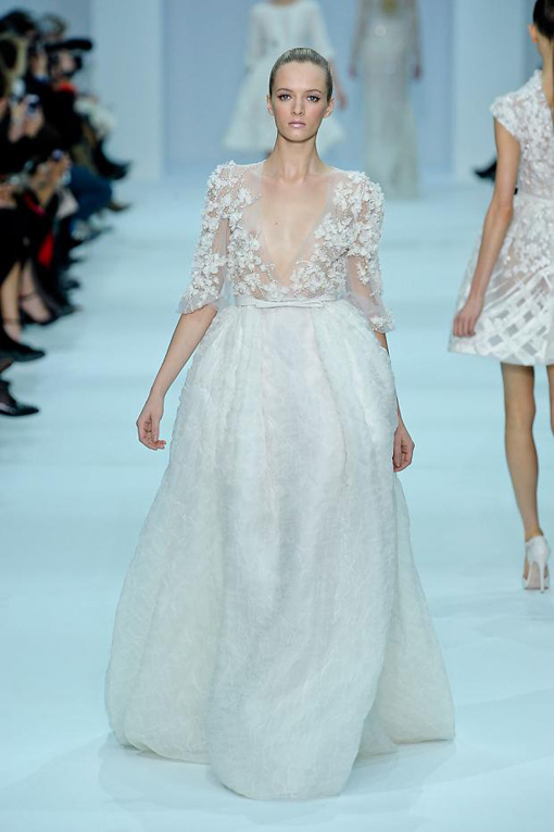 Elie Saab for Paris Haute Couture 2012